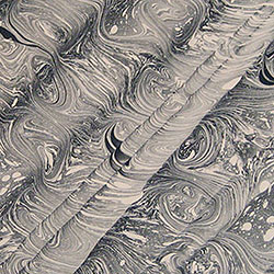 Stormont/Spanish Wave Marbled paper by Miki Lovett